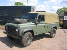 Ex MOD Land Rover 110 sold to a local dentist in late 1990's, we had to repaint blue & fit a hardtop to suit his needs!