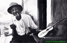 Willie Guy Rainey, Palmetto, Georgia, September 1978; source: Blues Unlimited 131/132 (September/December 1978), p. 55;  photographer: Valerie Wilmer