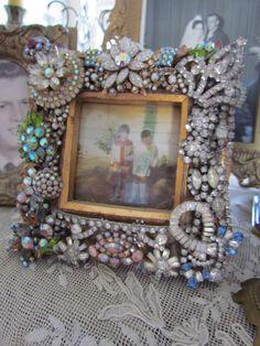 costume jewelry frame