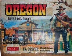 Madelman blog show: OREGON: Rutas del oeste de Comansi