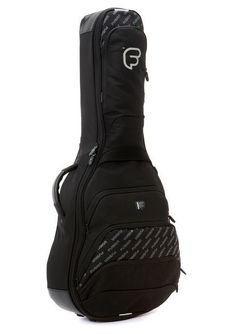 67d260994d Classical Guitar Hybrid Case Gig Bag Backpack Fusion F1 Black Polyester   Fusion