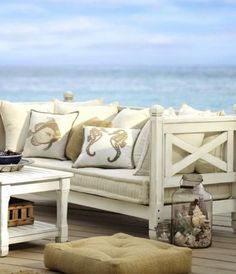 Cool Sea Inspired Patio