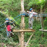 Park Dinant Aventure, de uitdaging van de Lessevallei