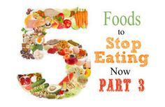 5 Foods to Stop Eating Now - Part 2 | eBay
