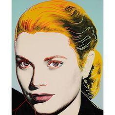 Grace Kelly by Andy Warhol. #andywarhol #gracekelly