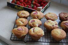 made with love: Jahodove cheesecake muffiny