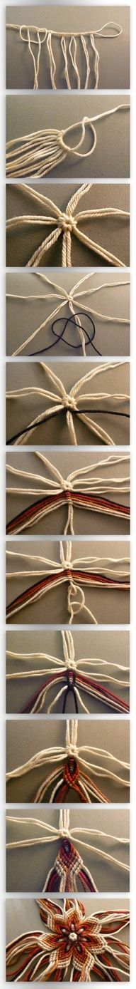woven star to make a dream catcher, I want to learn how to make these