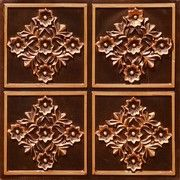 "Decorative Plastic Ceiling Tiles Fascinating Da Vinci  Faux Tin Ceiling Tile  Drop In  24""x24""  #215 Design Decoration"