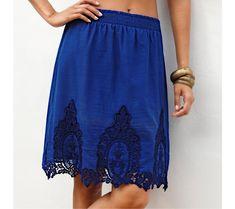 Sukňa s výšivkou | vypredaj-zlavy.sk #vypredajzlavy #vypredajzlavysk #vypredajzlavy_sk #sako #sukne #vyprodej #slevy Lace Skirt, Skirts, Fashion, Moda, Fashion Styles, Skirt, Fasion, Skirt Outfits