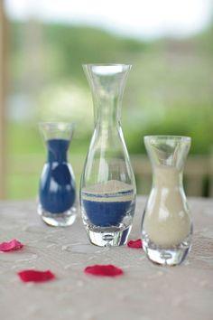 Unity Sand, Cobalt Blue and Ivory