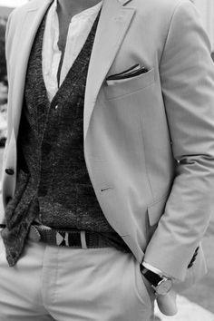 Real Men Wear Suit !