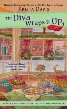 The Diva Wraps It Up (A Domestic Diva Mystery) by Krista Davis, June 2014 http://www.amazon.com/dp/0425258149/ref=cm_sw_r_pi_dp_jm2etb0WNBQWJ