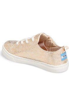 b3b8a4ed04c TOMS Lenny Metallic Sneaker (Baby