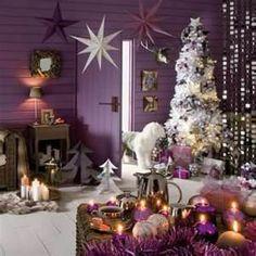 Christmas Purple Color Theme