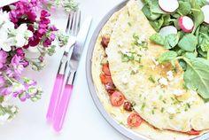 Delicious & Gluten Free: Chorizo & Red Pepper Omelette