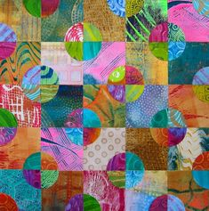 Try your hand at five bonus projects from Gelli Plate Printing by Joan Bess in this demonstration! #acrylicpainting #gelliplate #mixedmedia