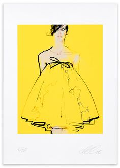 minchki: fashion illustrator: David Downton