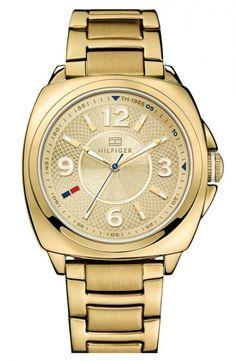 Tommy Hilfiger Cushion Case Bracelet Watch, 38mm #tommyhilfiger #tommyhilfigersaat  #tommyhilfigerfiyat #tommyhilfigermodelleri #tommyhilfigertürkiye #tommyhilfigeriletişim
