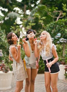 I want to know why my friends and i don't get together to blow bubbles more often? ; ) AM