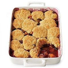 Plum Cobbler | MyRecipes.com