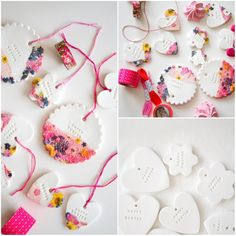 Easter Clay Gift Tag