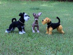 Ravelry: Tessypoo's DOG - Welsh Terrier - TEST Crochet pattern by LittleOwlsHut Tatiana Chirkova
