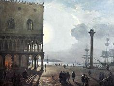 "Friedrich Nerly ""La Piazzeta et le Palazzo Ducale"""