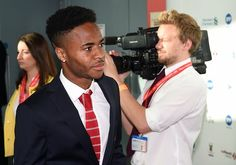 Liverpool's English midfielder Raheem Sterling arrives to attend the Liverpool Football Club 2015 Players' Awards at the Echo Arena in Liverpool on May 19, 2015