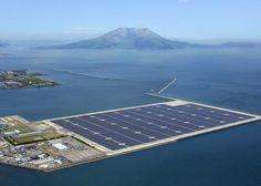 Kyocera's new solar-power plant