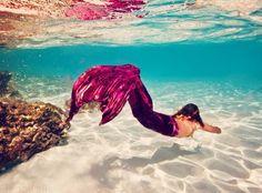 I wish I could be a mermaid