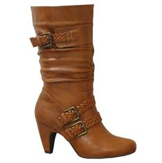 Boots with Braided Belts $29.00