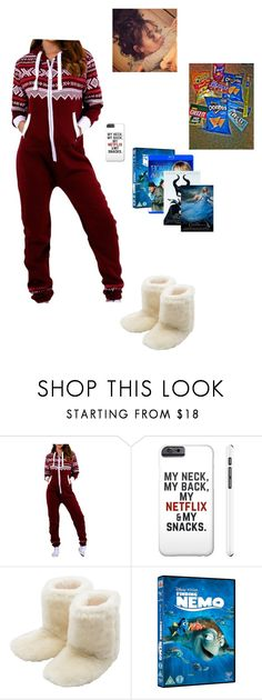 """""""Movies, Snacks, & Chill??"""" by aukeija-smiles ❤ liked on Polyvore featuring M&Co, Junk Food Clothing, women's clothing, women, female, woman, misses and juniors"""