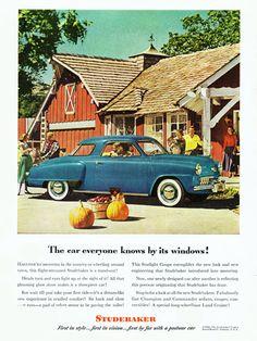 Studebaker Champion Starlight Coupe 1948 - Mad Men Art: The 1891-1970 Vintage Advertisement Art Collection