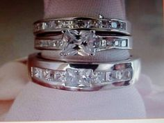 3 Ring Wedding Set - The Wedding Specialists