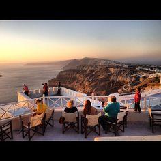 Instagram Photo by @smavani • Wine tasting in #Santorini @ Santo Wines Winery
