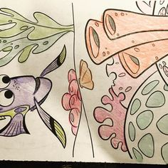 More Dory coloring