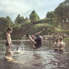 A set of photographs by Dmitriy Markov (Russia)