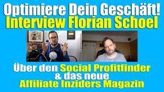 Social Profitfinder, Affiliate Inziders - Interview mit Florian Schoel Interview, Earn Money, World