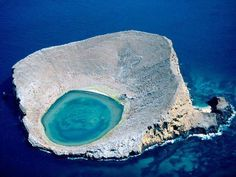 Laguna azul - Ecuador