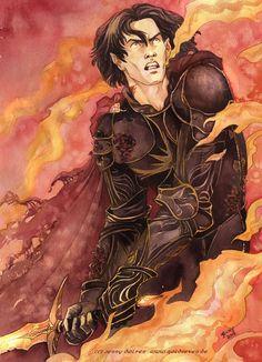 Fëanor's last stand ~ by Jenny Dolfen