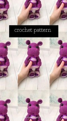 Crochet Doll Pattern, Easy Crochet Patterns, Crochet Designs, Crochet Dolls, Doll Patterns, Crochet Ideas, Basic Crochet Stitches, Crochet Basics, Crochet Round