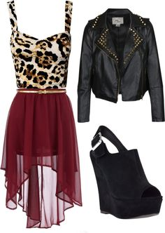 """""""Night Out"""" by bella-crookston on Polyvore"""