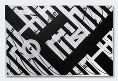 https://flic.kr/p/sDzyYN | Blaqk (Greg Papagrigoriou & Simek) | 120cm x 80cm Acrylic on canvas 2012