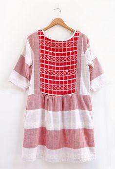 Ace & Jig Big Top Peasant Mini Dress | Peper and Parlor