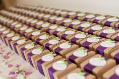 Army of wedding favors