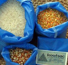 Reusable bulk food / produce bags lightweight ripstop by kootsac