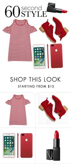 """Where's Waldo"" by tashawn-yeldell ❤ liked on Polyvore featuring Jeffrey Campbell, NARS Cosmetics, tshirtdresses and 60secondstyle"