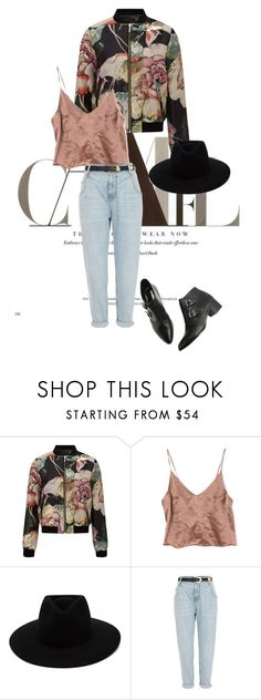 """""""Louder"""" by agnesegundega ❤ liked on Polyvore featuring Miss Selfridge, rag & bone and River Island"""