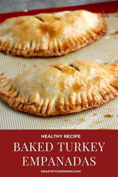 Baked Turkey Empanadas Made with Jennie-O Ground Ground Turkey Breast are an easy calorie-conscious snack or quick dinner for the entire family. Baked Turkey, Turkey Chicken, Wood Stove Cooking, Empanadas Recipe, Turkey Sandwiches, Ground Turkey Recipes, My Best Recipe, Turkey Breast, Mexican Food Recipes