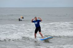 It is true... The more you #surf the stronger you get.  #SanDiego #SurfSchool